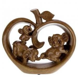 Decorative figurine - Three impish elephants