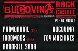 Bucovina Rock Castle anunta primele formatii