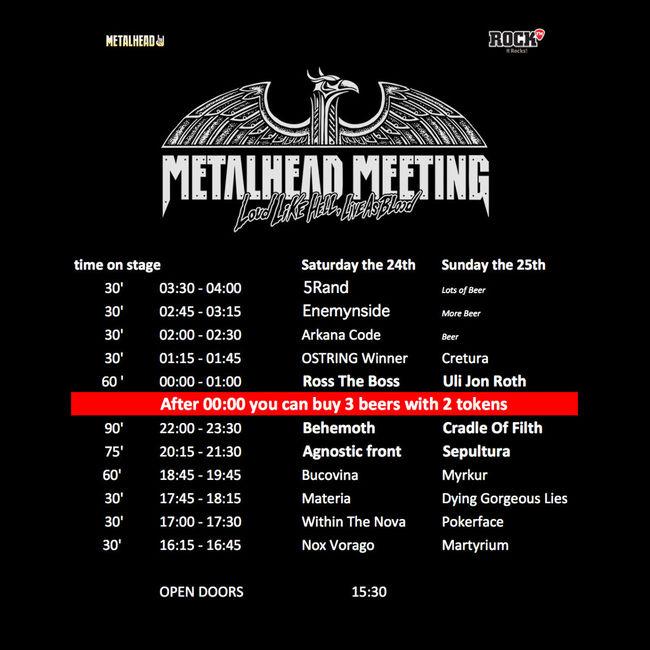 Poze Poze pentru articole - Program Metalhead Meeting 2017