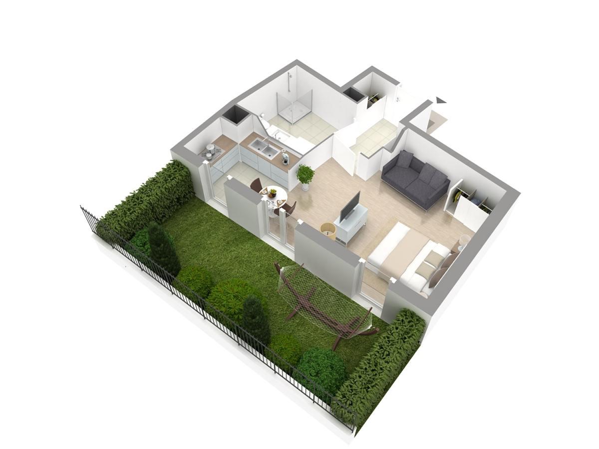 Galerie Plans 3D VEFA 4