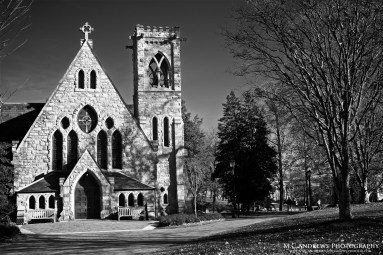 UVA Chapel Tolling the Bells for Exams BW