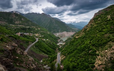 Shot from Chalous Road in the Mazandaran province in northern Iran.