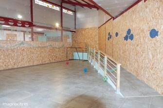 Room 3/ patio interior / area de deportes