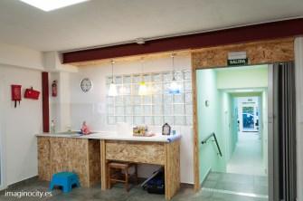 Room 3 / patio interior / kitchenette y primeros auxilios