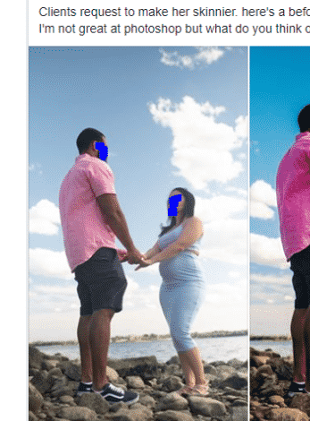 The photographer publicly embarrassing a pregnant lady and what we can learn from this