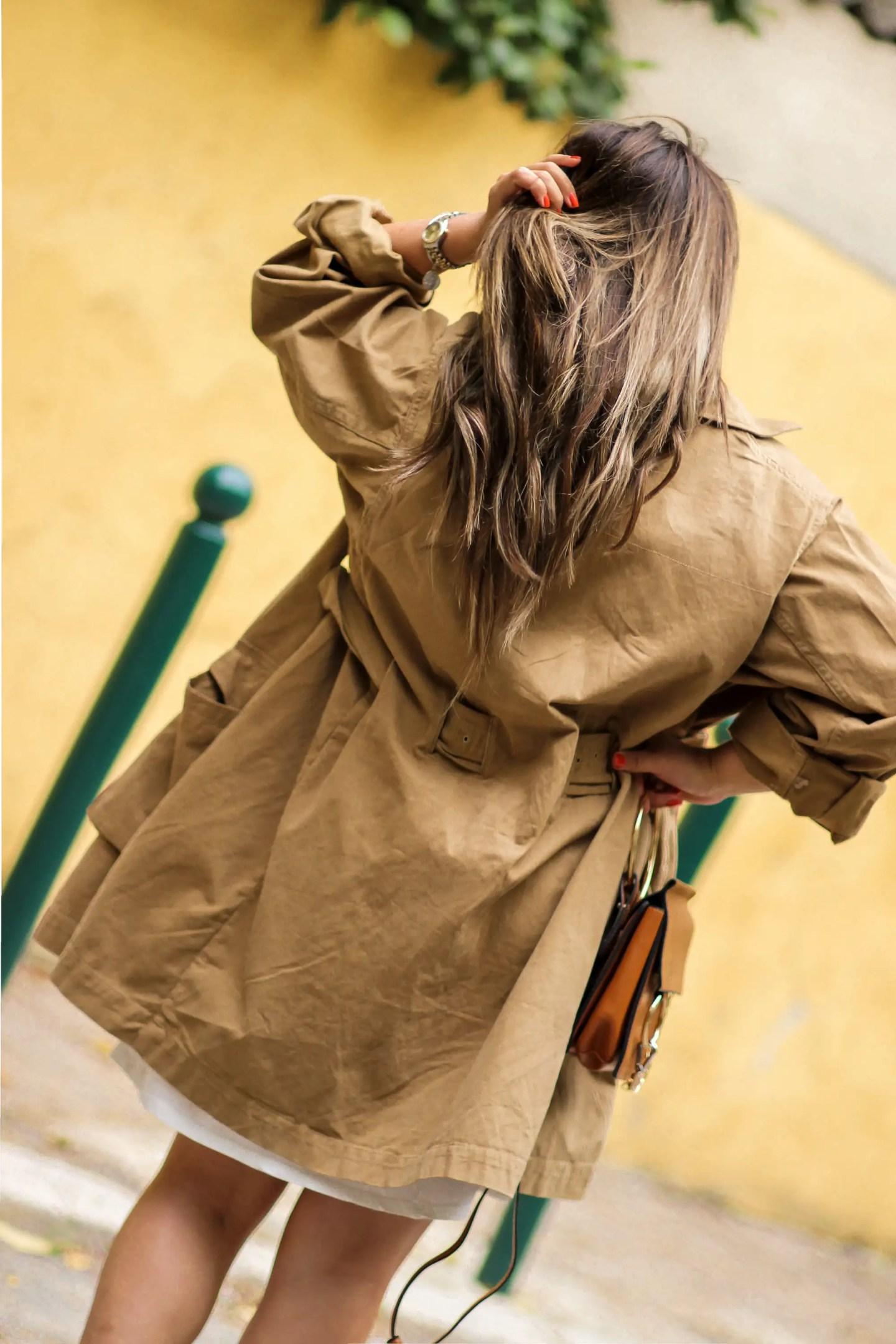 blog mode, the green ananas, hm, trench, tendance safari, hm studio, zara, pull and bear, TENDANCE SAFARI : Ce look que je pourrais porter tous les jours, tendance safari chic, rolex