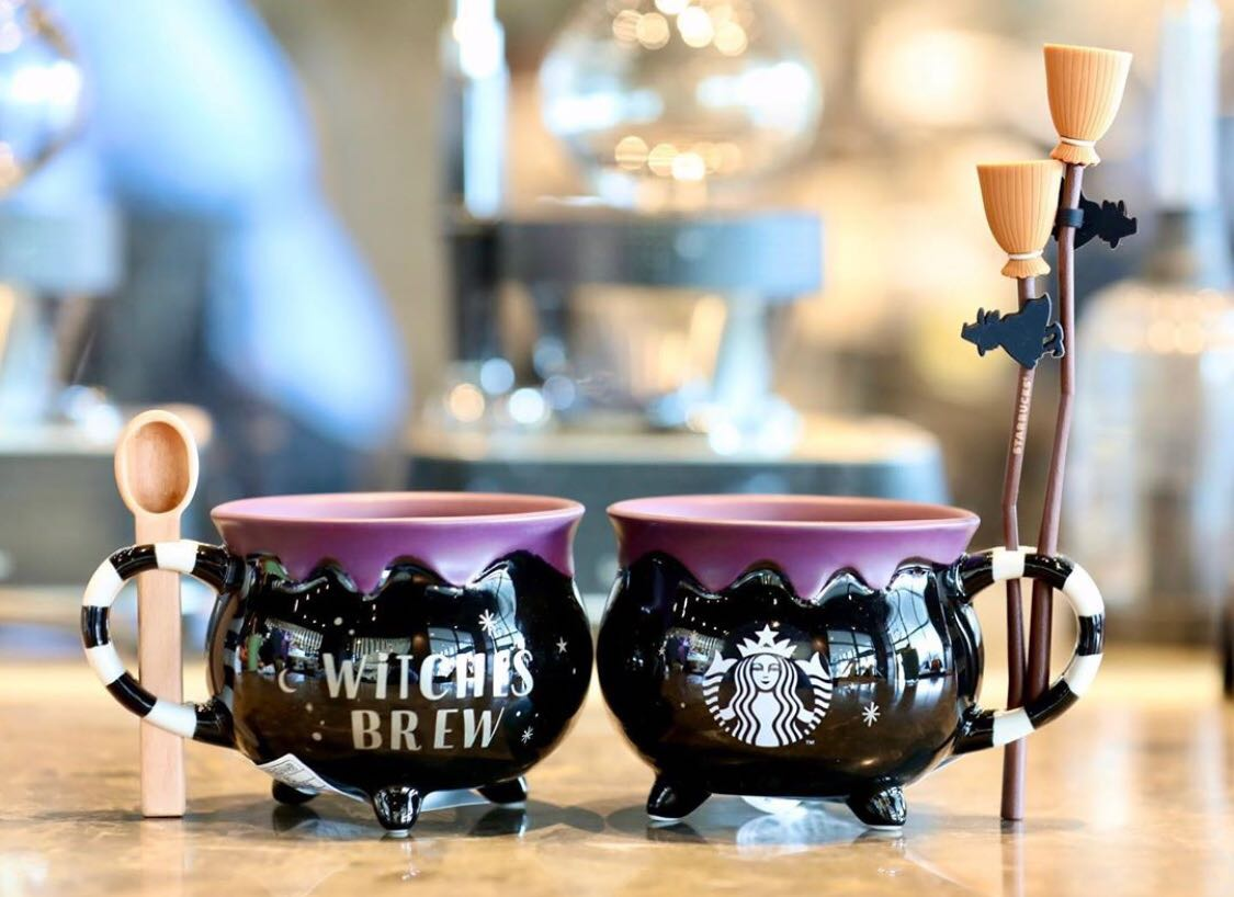 Country living editors select each product featured. New 2019 Starbucks Korea Halloween 'Witches Brew' Porcelain Cauldron Mug w/Spoon | eBay