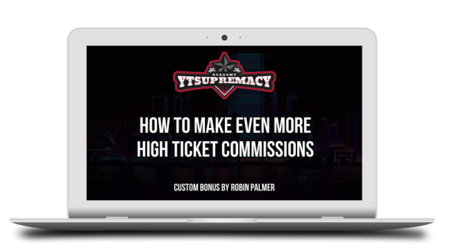How To Generate 10K+ a Month on YouTube With Affiliate Sales with YT Supremacy 11