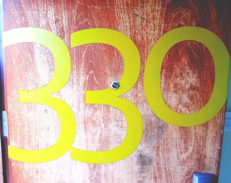 We were billeted at Room 330
