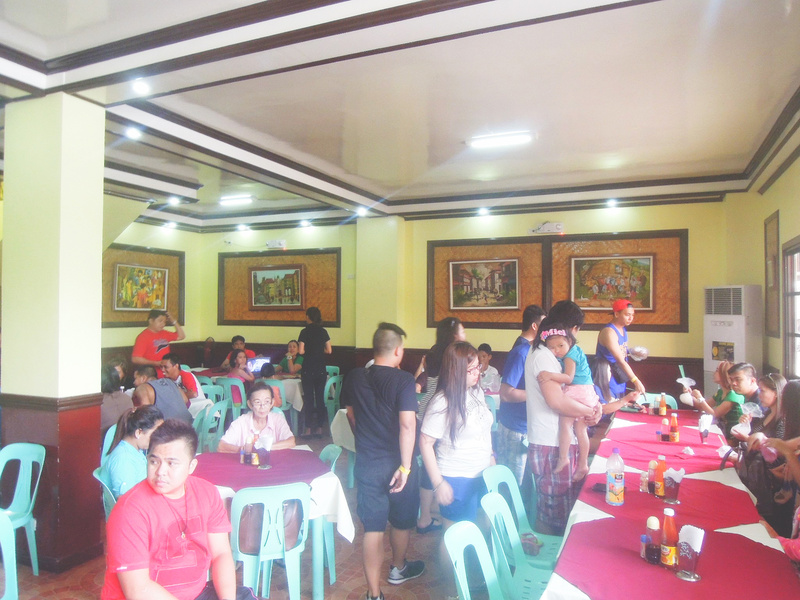 The interiors of Lolo Claro's Restaurant