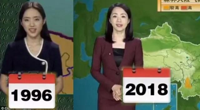 presentadora clima