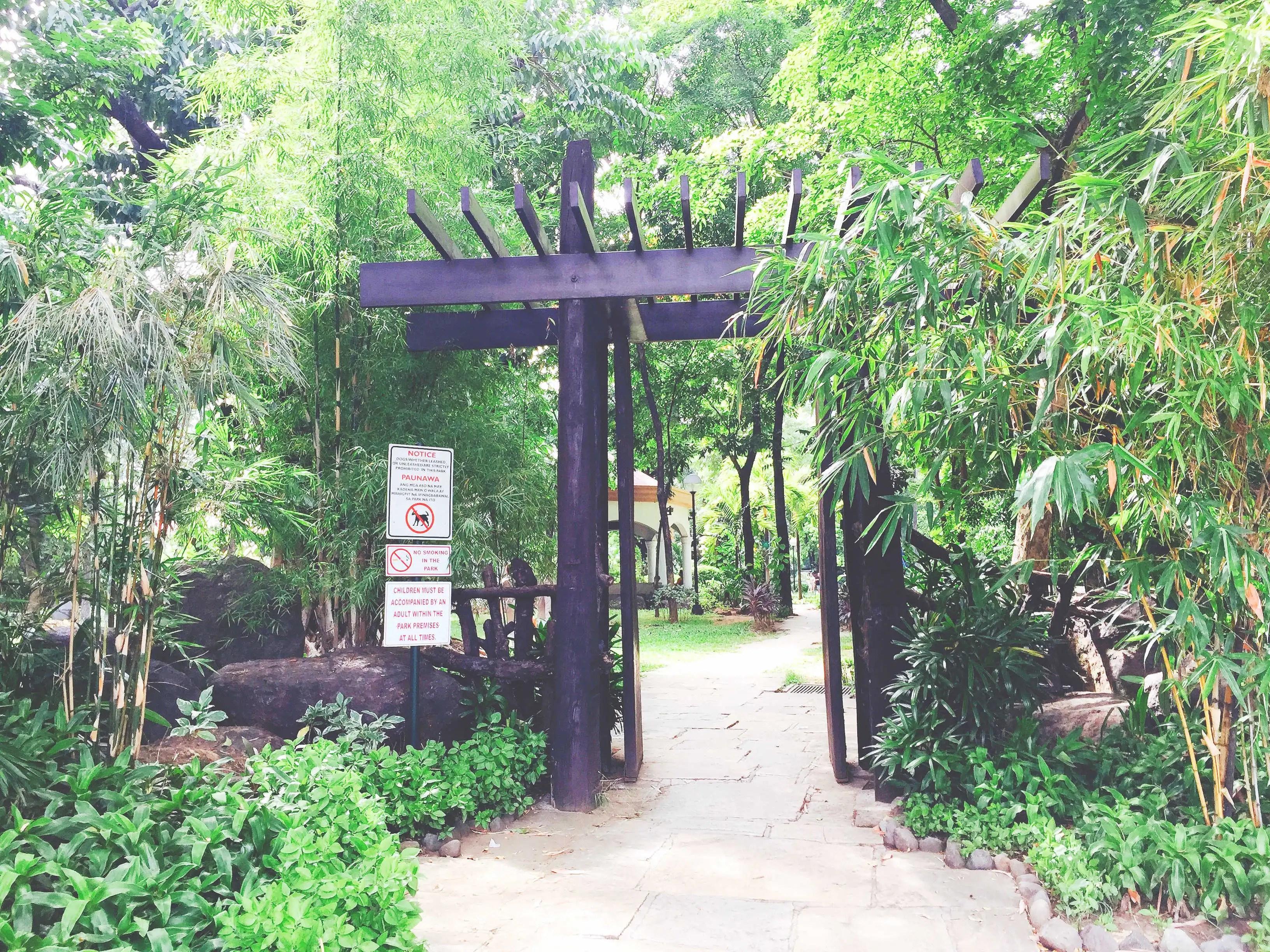 Zen Gate at Washington Sycip Park