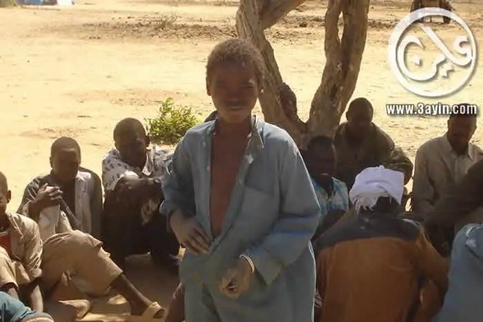 صبايا من نازحي دارفور
