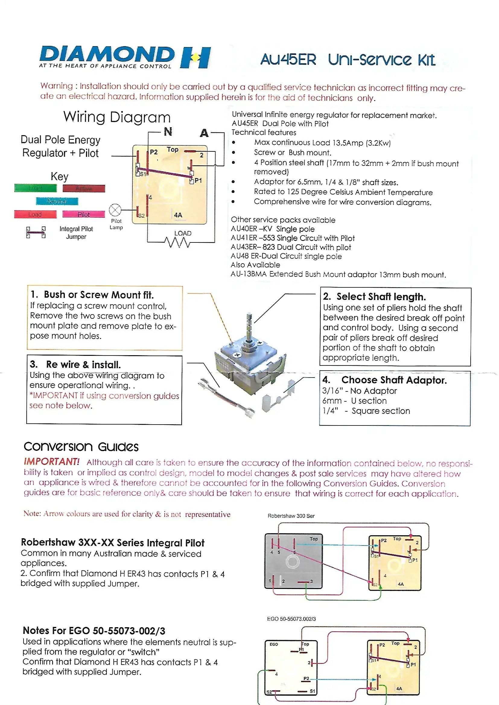 Erie Zone Valves Replacement Valve Wiring Diagram