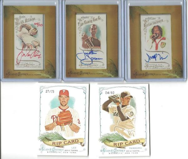 Week late to the party 2014 Allen & Ginter Case Break ...