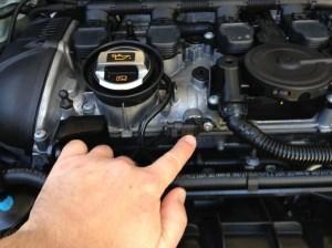 MK6 GTi (EA888 engine) Cam Position Sensor oil leak – easy