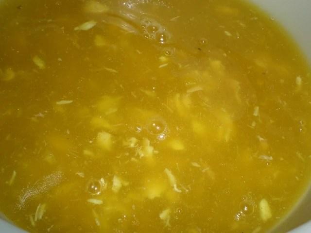 Sopa de cabezas de pescado y papas