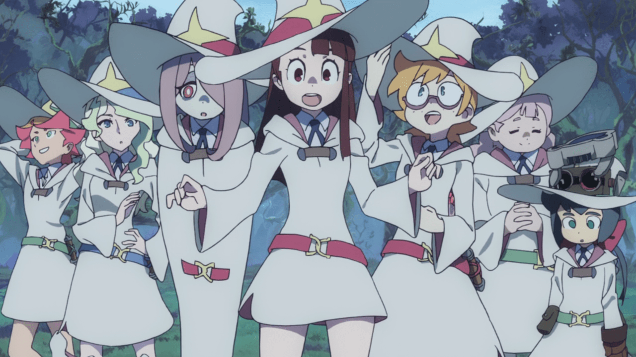 Image result for little witch academia season 2 end fight