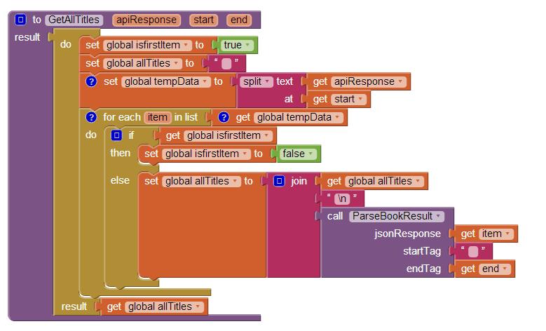 Parse multiple JSON results