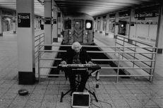 Músico solitario
