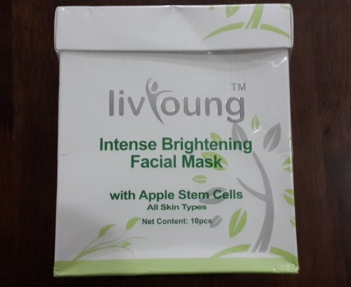 Intense Brightening Facial Mask with Apple Stem Cells