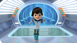 "MILES FROM TOMORROWLAND - Disney Junior's animated series ""Miles from Tomorrowland"" follows the outer space voyages of young adventurer Miles and his family. (DISNEY JUNIOR) MILES"