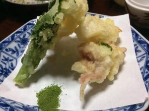 イカの天ぷら