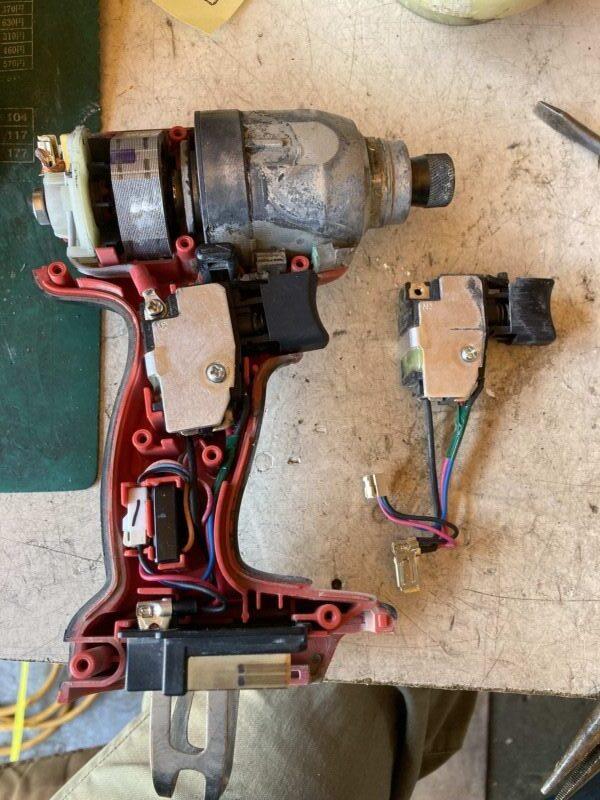 マキタインパクトTD131修理4