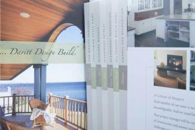 DAVITT Design Build Print closeup