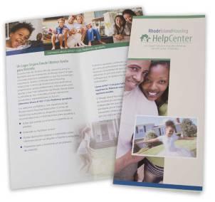 RIH Helpcenter brochure