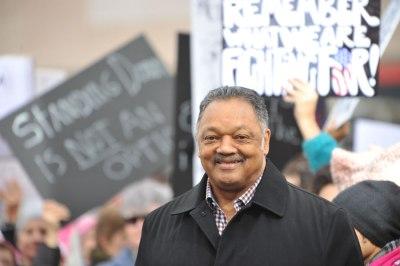 Jesse Jackson Womens March