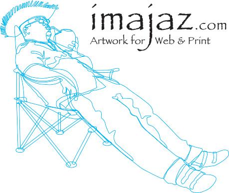 Illustration artwork for web and print