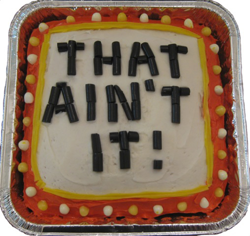 That Ain't It! Trivia AppCake by IMAK Creations