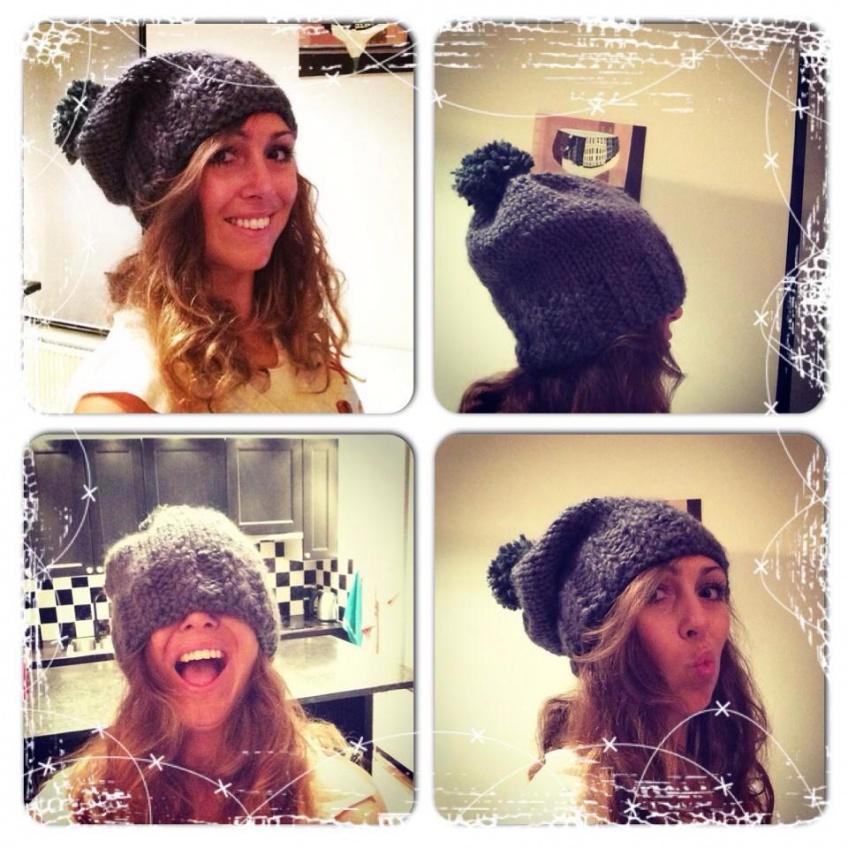beanie - Roxanne | #deeljeDIY @imakinNL