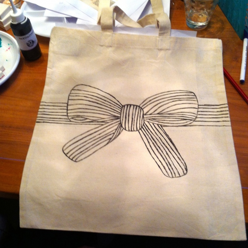 canvas tas - Lisanne | #deeljeDIY @imakinNL