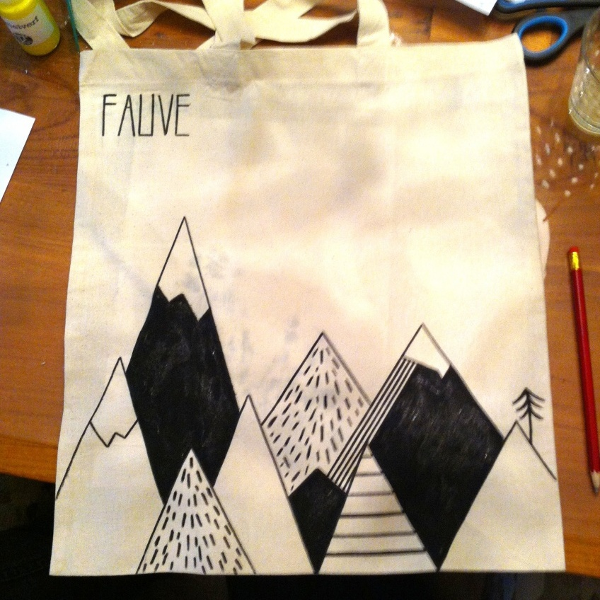 canvas tas - Fauve | #deeljeDIY @imakinNL