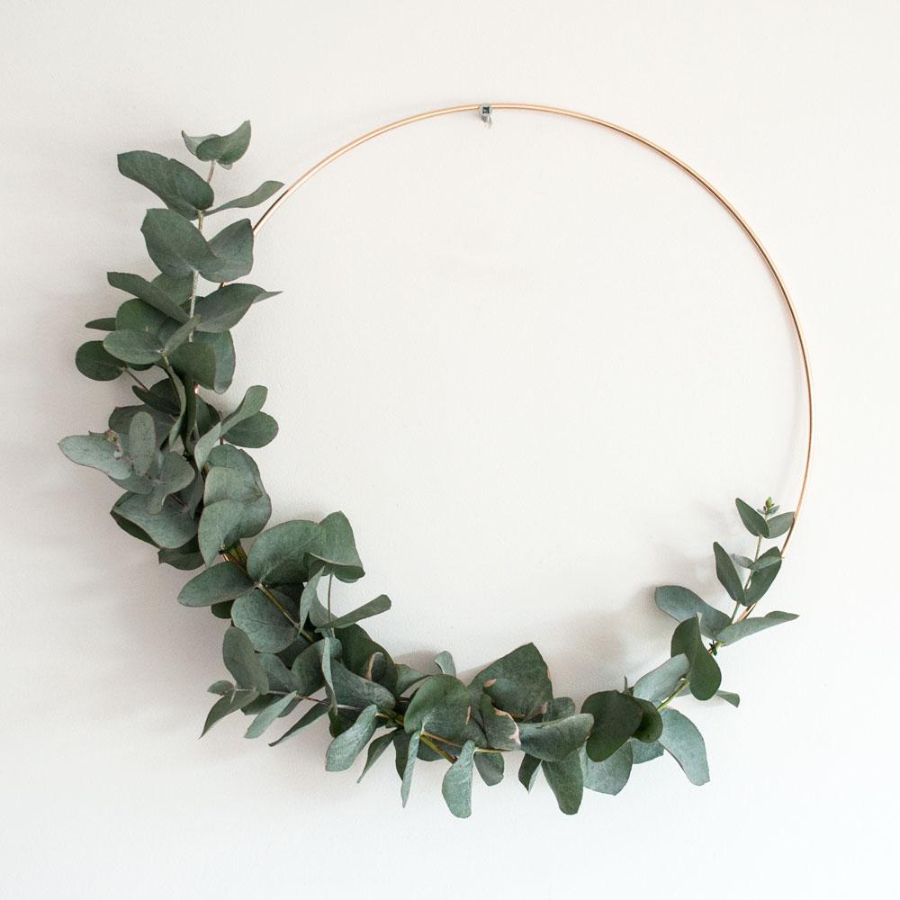 diy eucalyptus krans | IMAKIN