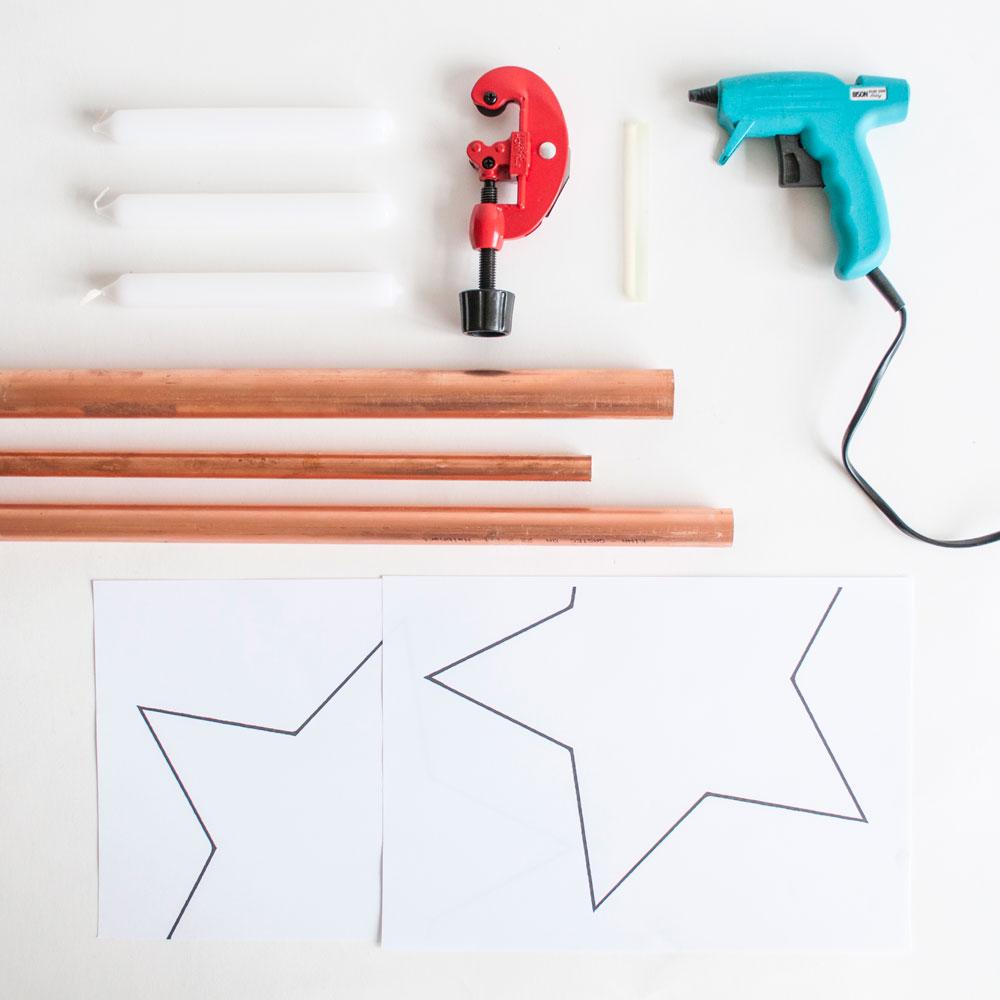 DIY koperen buisjeskandelaar | IMAKIN