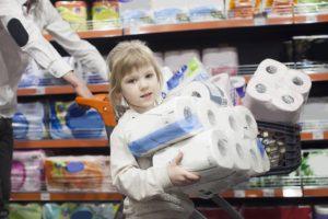 子ども連れ 買い物