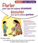 Atelier Faber&Mazlish : Parler pour que les enfants écoutent