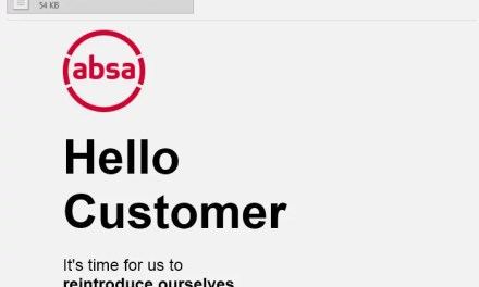 Beware new-look Absa scam