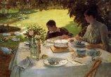 Giuseppe De Nittis, Colazione in giardino, 1883