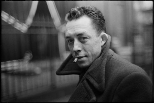 Henri Cartier-Bresson, FRANCE. Paris. French writer Albert CAMUS. 1944. @Henri Cartier-Bresson   Magnum Photos