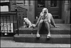 Elliott Erwitt Street scene in New York City. USA. 2000 © Elliott Erwitt | Magnum Photos
