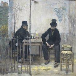 Jean Francois Raffaelli, I bevitori di assenzio, 1880-81