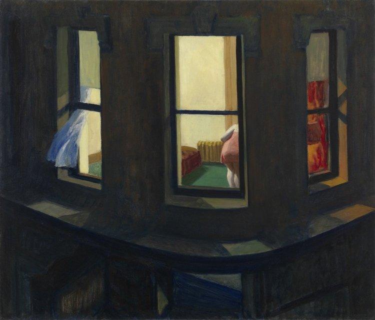 "Edward Hopper, ""Night Windows"", 1928. MoMA ©"