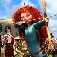 "Pixar's ""Brave"" Princess"