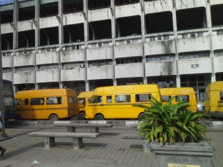 POP OF COLOUR - Venue for The Experience Lagos 2014 - 9th Edition