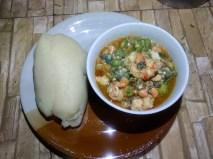 Fisherman soup with Semo