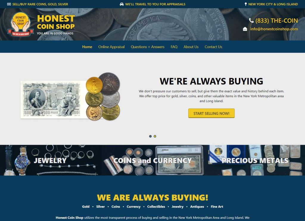 Honest-coin-imarketing-miami-digital-agency